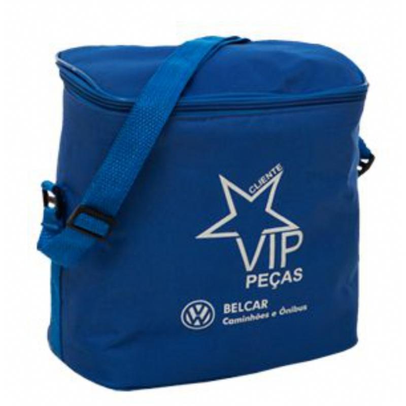4961085ac Bolsa térmica personalizada Azul 8 litros. Skill Brindes