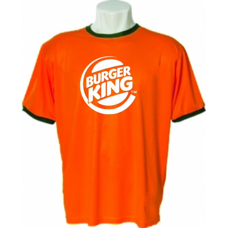 6399cdf4a7 Camiseta personalizada gola V Laranja. Skill Brindes